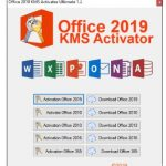 Office 2019 KMS Activator Ultimate 1.4 [Latest]