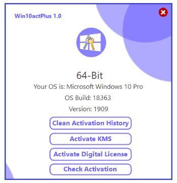 Win10actPlus