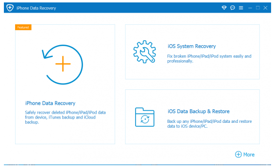 Aiseesoft FoneLab iPhone Data Recovery