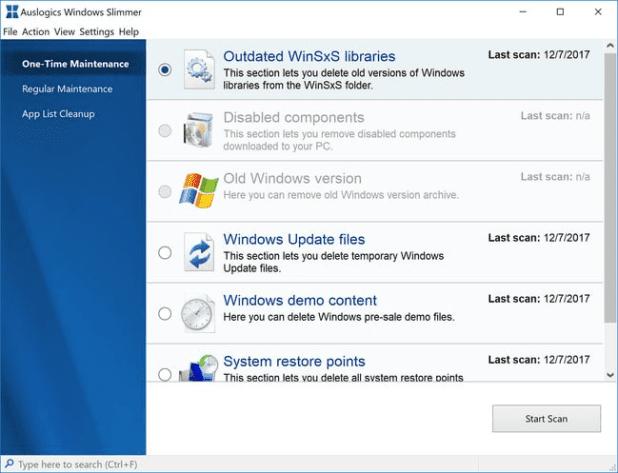 Auslogics Windows Slimmer Pro
