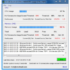 CPU-Monitor-and-Alert
