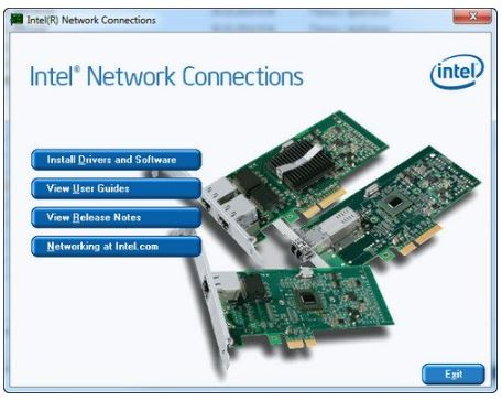 Intel Ethernet Connections CD