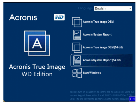 Acronis True Image WD Edition