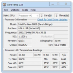 Core Temp 1.16.0 + Portable [Latest]