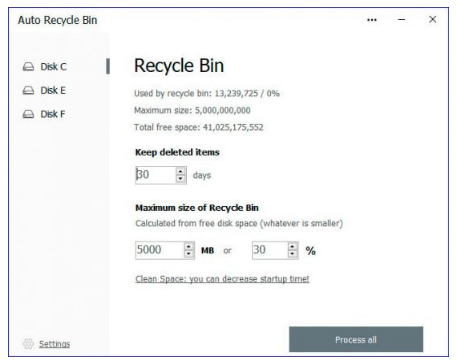 Cyrobo Auto Recycle Bin