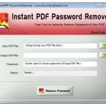 Instant PDF Password Remover 9.0 [Latest]