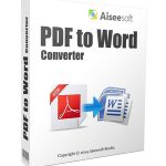Aiseesoft PDF to Word Converter 3.3.36 Portable [Latest]