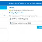 Intel Memory and Storage Tool 1.3.92 [Latest]