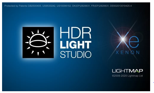 Lightmap HDR Light Studio Xenon
