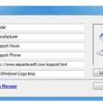 OEM Info Editor 1.7.0.0 [Latest]