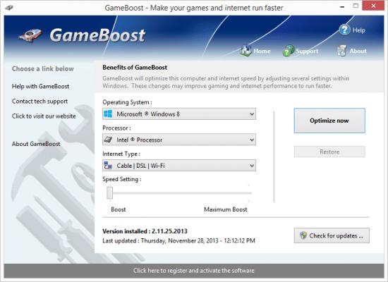 PGWare GameBoost