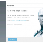 ESET Anti Virus Remover Tool 1.5.3.0 [Latest]