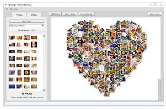 FigrCollage Portable 3.2.3.0 免安裝 - 照片拼貼製作工具 - 軟體吧
