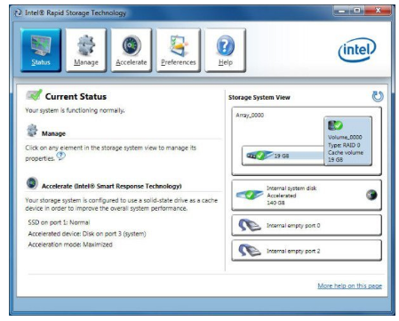 Intel Rapid Storage Technology (RST)