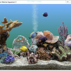 SereneScreen Marine Aquarium Portable