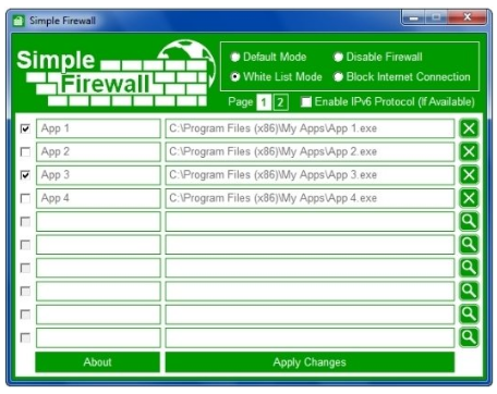 Simple Firewall