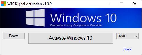 Windows 10 Digital Activation Program