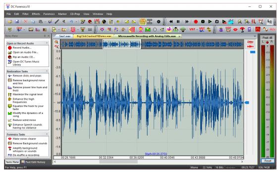 Diamond Cut Forensics10 Audio Laboratory