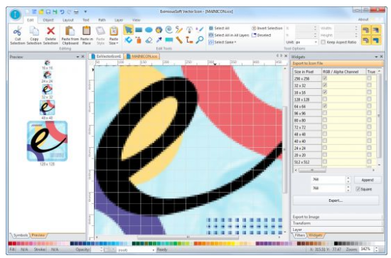 EximiousSoft Vector Icon