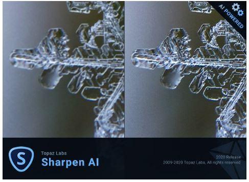 Topaz Sharpen AI