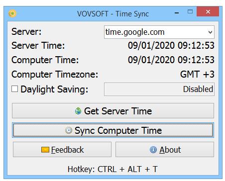 VovSoft Time Sync
