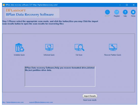 Bplan Data Recovery Software
