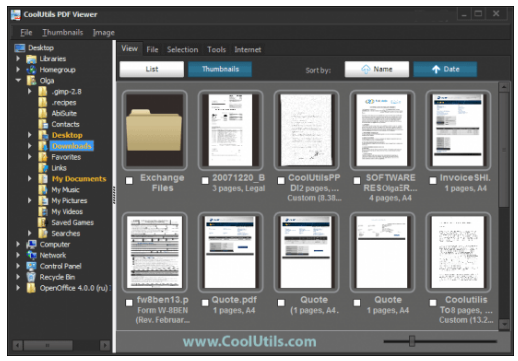 CoolUtils PDF Viewer