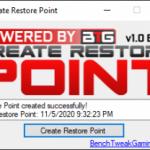 Create Restore Point 1.0 Beta [Latest]
