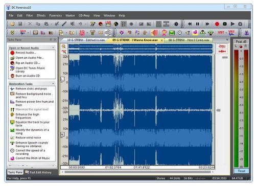 Diamond Cut Audio Restoration Tools