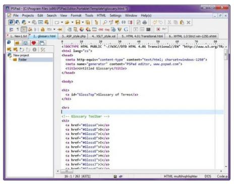 PSPad Editor