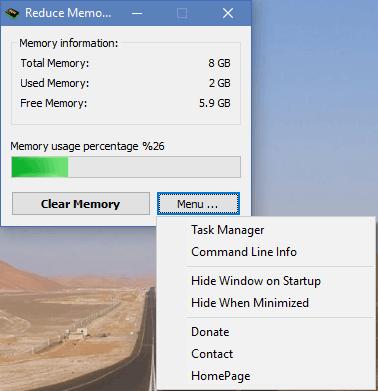 Reduce Memory