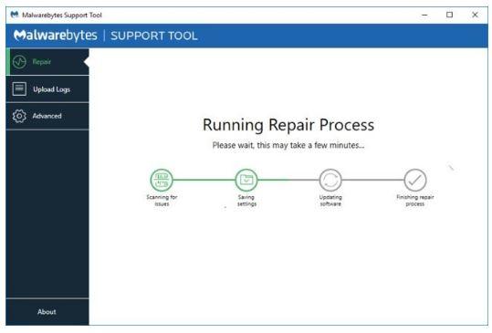 Malwarebytes Support Tool