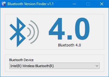 Bluetooth Version