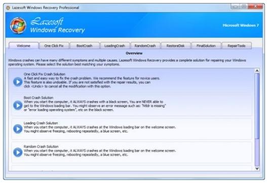 Lazesoft Windows Recovery Professional Edition
