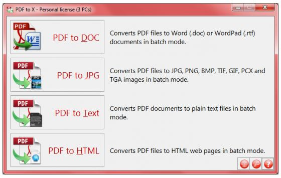 TriSun PDF to X