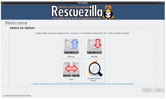 Rescuezilla
