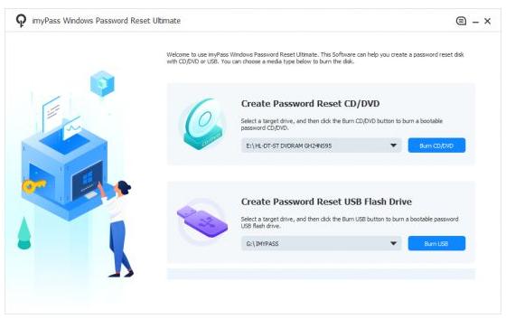 imyPass Windows Password Reset