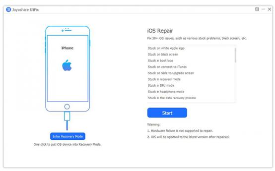 Joyoshare UltFix (iOS System Recovery)
