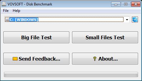 VovSoft Disk Benchmark