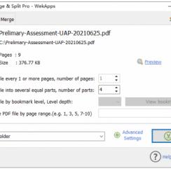 Wek PDF Merge & Split Pro